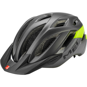 MET Crossover Casque, black safety yellow